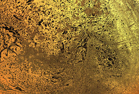 Mixture of acrylic paints Abstract liquid marble texture Fluid art. Deep colour background