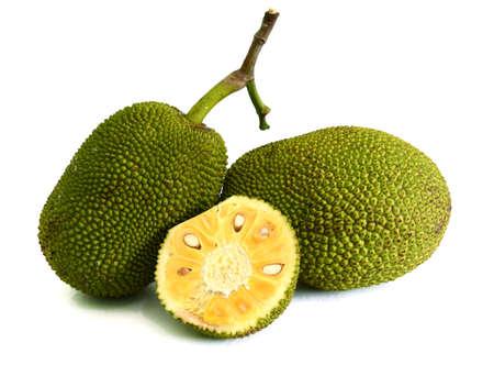 Cross-section of giant Jack-fruit.