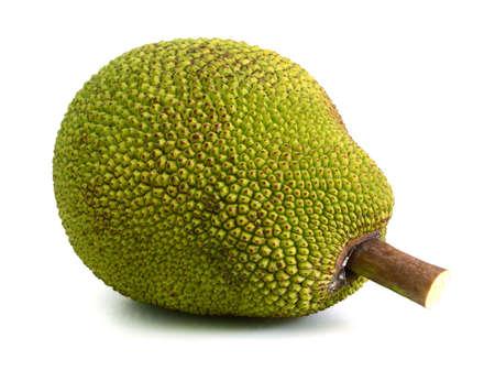 piece of jackfruit isolated