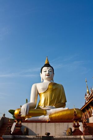 Buddha Image in Chiang Mai photo