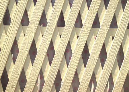 fence: White wall texture Stock Photo