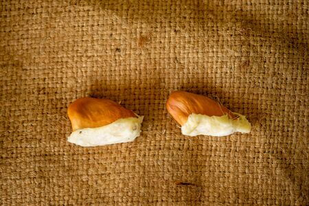 Durian seed are small in appearance, customers are very fond of.