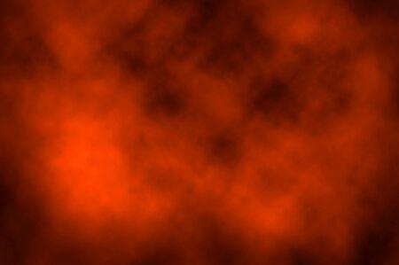 orange cloud background photo