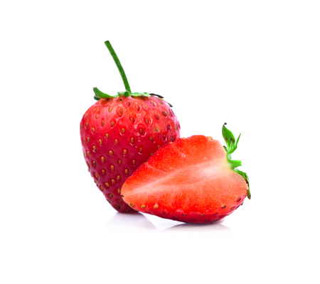 Strawberrys isolate on white backgorund