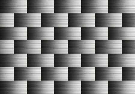 aluminum: Pattern of aluminum Stock Photo