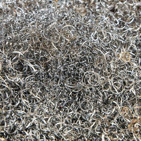 steel wool: abstract steel wool background