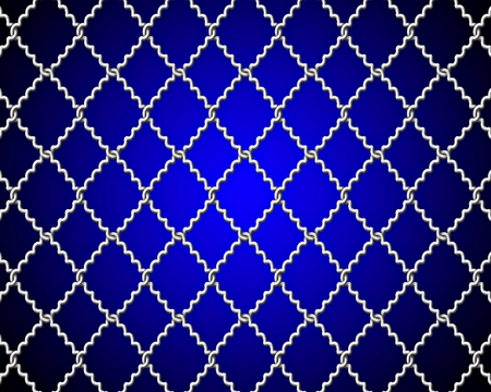 fencing wire: mesh wire for fencing on a blue background