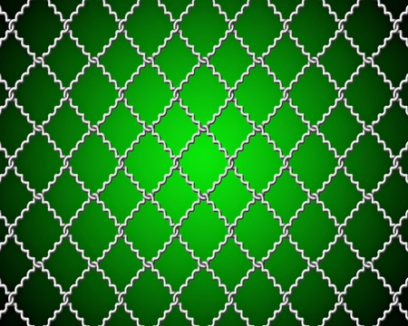 fencing wire: mesh wire for fencing on a green background