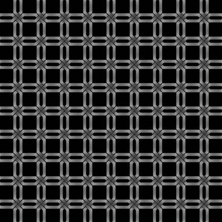 wickerwork: abstract metallic wickerwork pattern