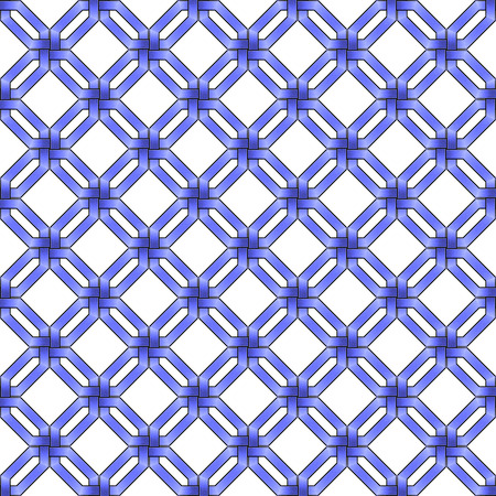 wickerwork: abstract blue metallic wickerwork pattern Stock Photo