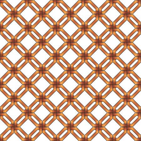 wickerwork: abstract gold metallic wickerwork pattern