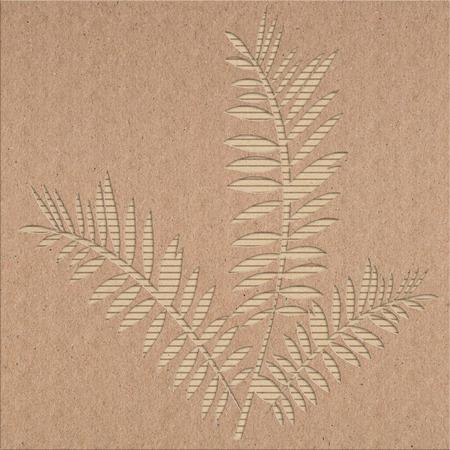 corrugated cardboard: Torn corrugated cardboard background texture Stock Photo