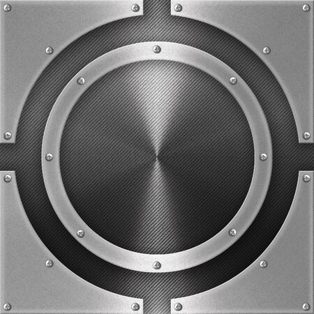 Metal plate background Фото со стока
