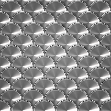 fish scale: metal Fish scale pattern Stock Photo