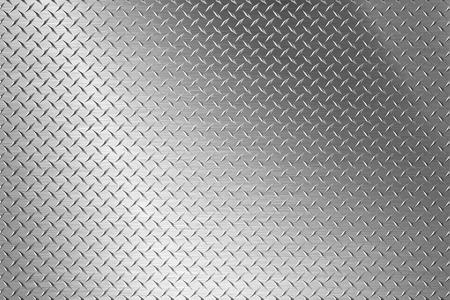 background of metal diamond plate Foto de archivo