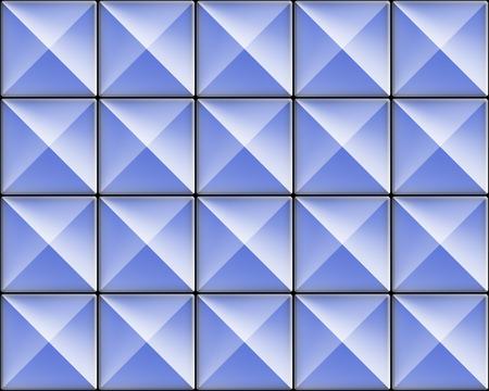 wall tile: Blue wall tile