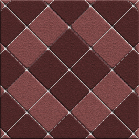 kitchen shower: Brown surface tiles Stock Photo