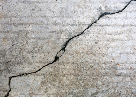 floor concrete cement with crack