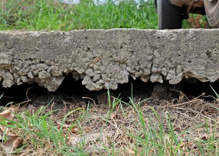 collapsed: Concrete collapsed