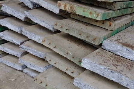 slabs: Old cement slabs