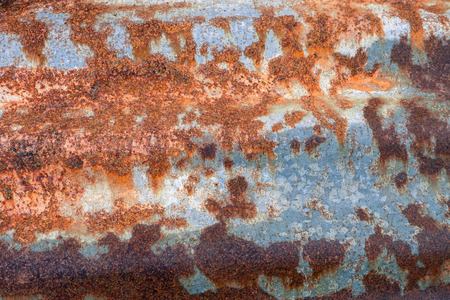 strongly: Old rusty steel Stock Photo