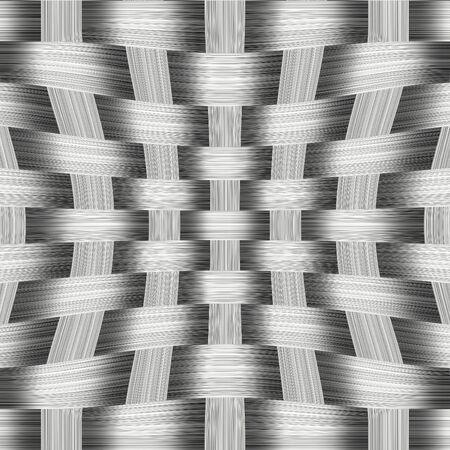 gunmetal: Aluminum weave