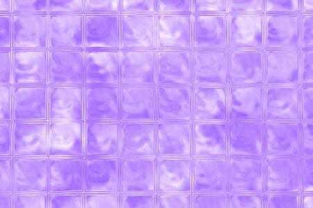 glass brick: purple color glass brick wall