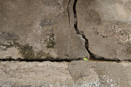 cracked concrete wall texture background Stock Photo