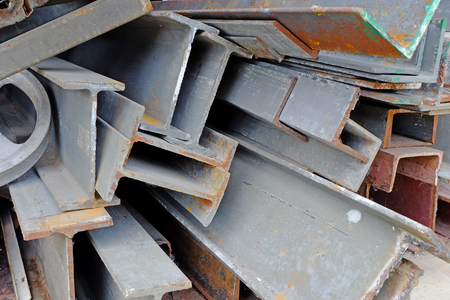 construction material: Scrap metal