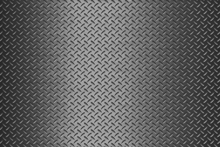 aluminum background: background of metal diamond plate Stock Photo