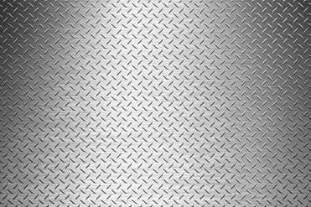 金属のダイヤモンド プレートの背景