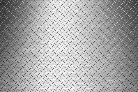 background of metal diamond plate Stock Photo