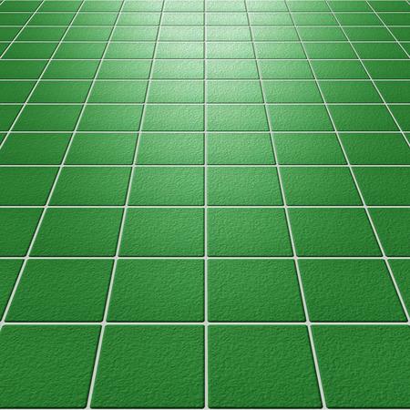 mosaic: Green rough mosaic