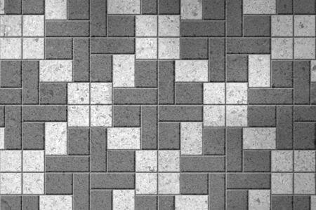 pavers: Pattern of gray sidewalk pavers