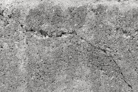 cracked concrete: cracked concrete wall texture background Stock Photo