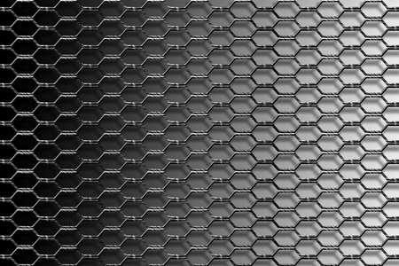 metal mesh: Metal mesh fence