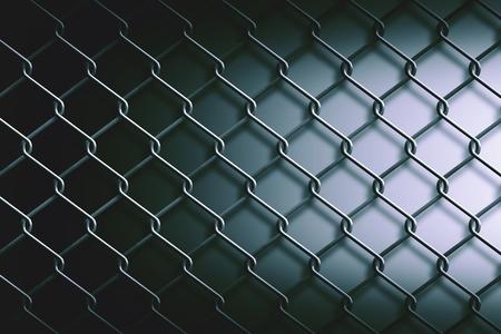 malla metalica: valla de malla met�lica