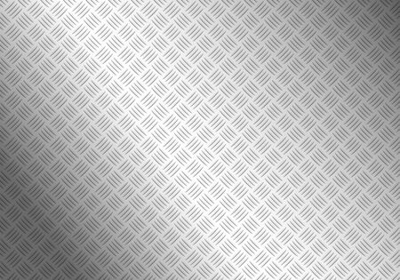 diamondplate: background of metal diamond plate Illustration