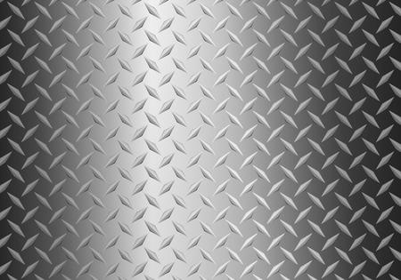 background of metal diamond plate Illusztráció