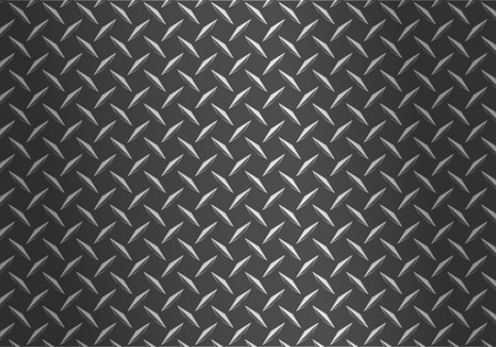 background of metal diamond plate Vettoriali