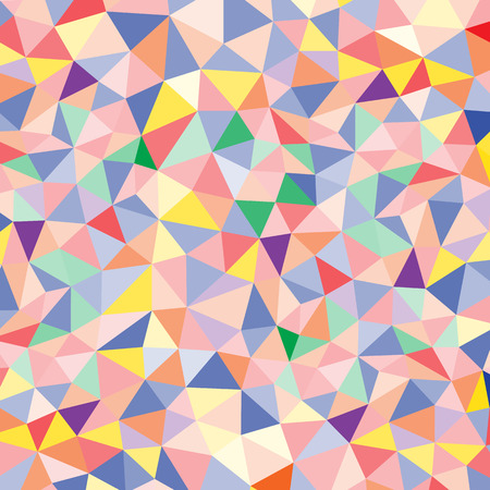 wall decor: Abstract polygon pattern