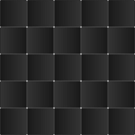 carreaux noirs textures fond Vecteurs