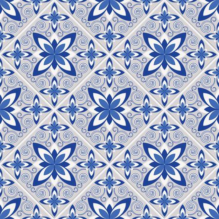 tile pattern: Tile decorative pattern ornament.