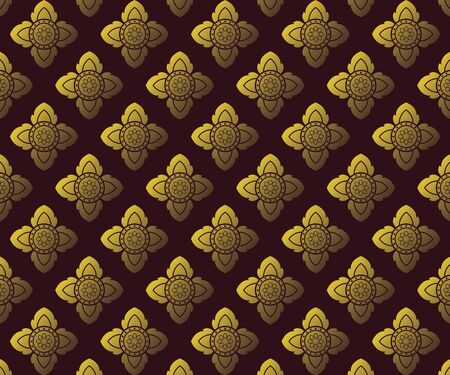 Thai Art pattern Background