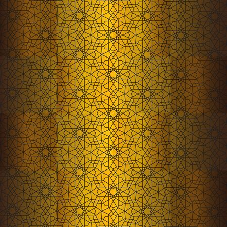 Abstract pattern decorative elements on background Ilustração