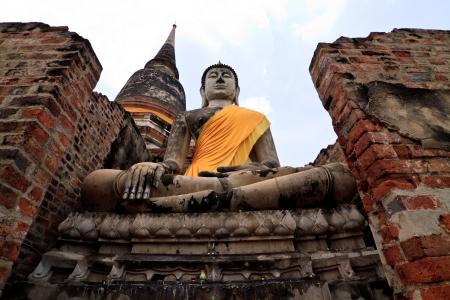Statue of Buddha, Thailand photo
