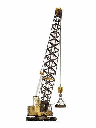 crawler: Crawler crane Stock Photo