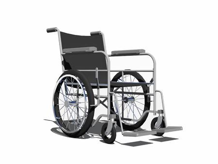 paraplegico: Silla de ruedas