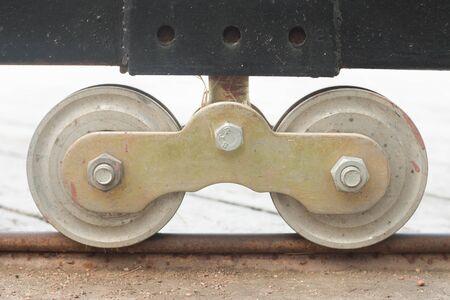 caster: caster gate,wheel tracks