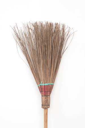 besom: broom Stock Photo